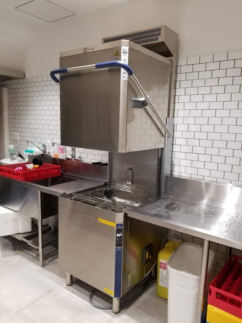 エレクトロラックス社の蒸気レス洗浄機
